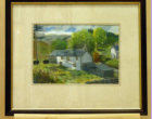 This Cumbrian scene is in water colour