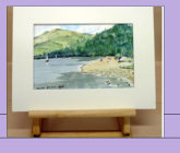 A Day at The Lakes _ Water colour_ The title says it all_Image = 209 x 140 mm (8.2 x 5.5 inches) approx.
