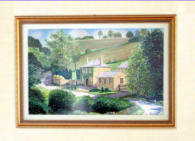 Water colour was one the artist was commissioned to do by the farm owner, a much respected family friend. Image = 850 x 553 mm (33.5x 21.8 inches) approx..